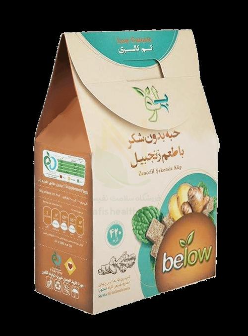 حبه بدون شکر بی لو ، کم کالری و بر پایه گیاه استویا بوده و شیرینی بیشتری دارد . خواص چاق کننده ، افزایش قند خون و فشار خون و ... که قند و شکر دارند در این محصول وجود ندارد.